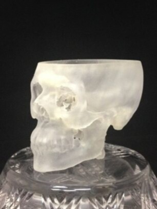 3D Printing Clear Skull
