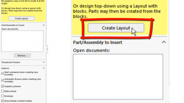 Create Layout