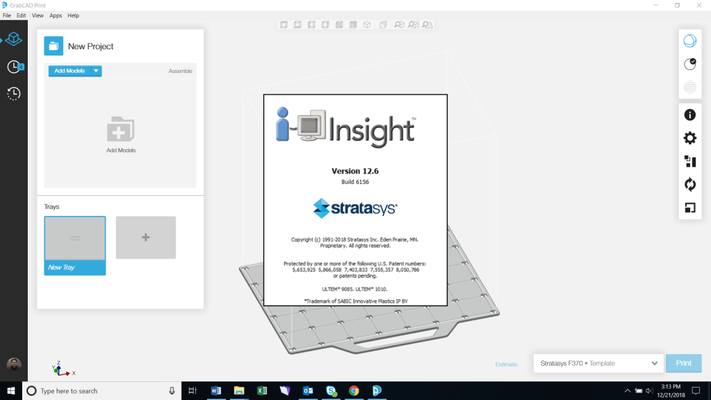 Loading Insight from GrabCAD Print