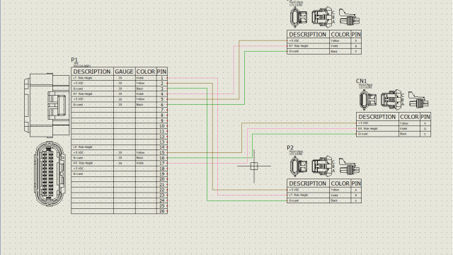 SOLIDWORKS Electrical Connection Labels