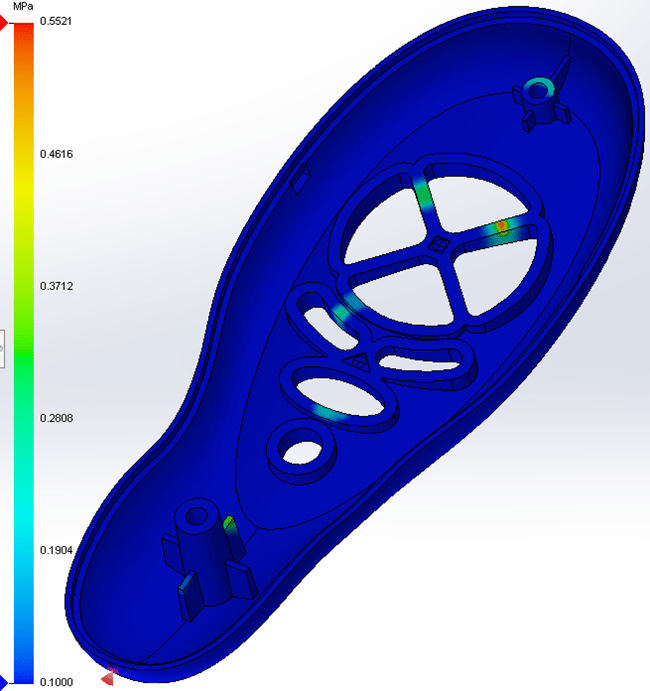 SOLIDWORKS Plastics Venting Analysis