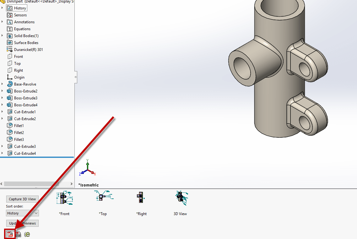 attach additional files to 3d pdf