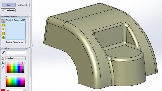 SOLIDWORKS Ambient Lighting