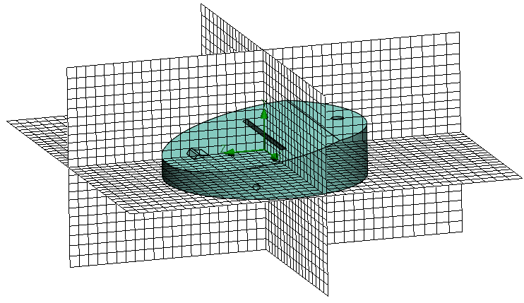 Flow Simulation's Basic Mesh