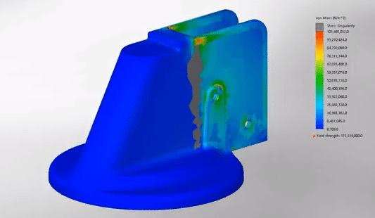 using SOLIDWORKS simulation