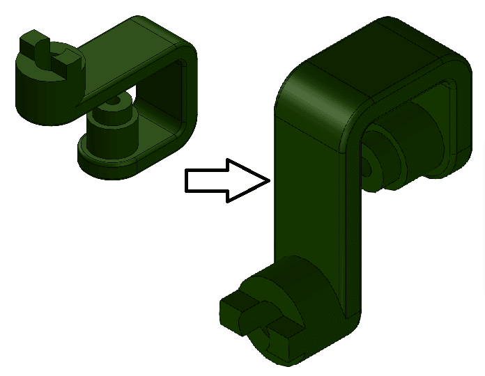 solidworks updating standard view isometric model view